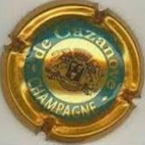 troc de  Capsule Champagne de Cazanove OR Cuivré, sur mytroc