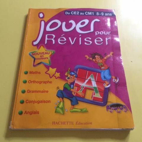 troc de  Cahier jouer pour réviser - CE2 au CM1 - 8-9 ans - Hachette, sur mytroc