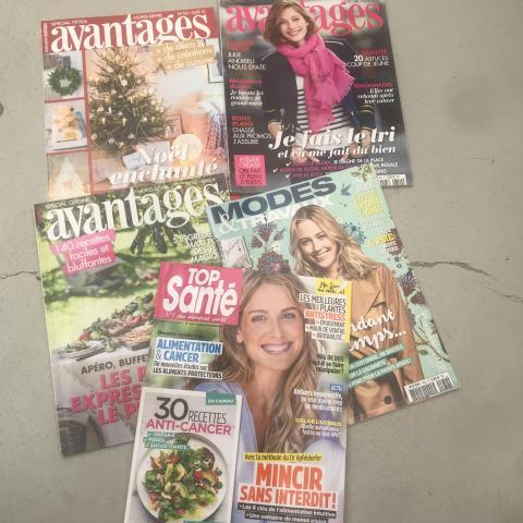"""troc de  Lot de 5 magazines """"lifestyle"""", sur mytroc"""