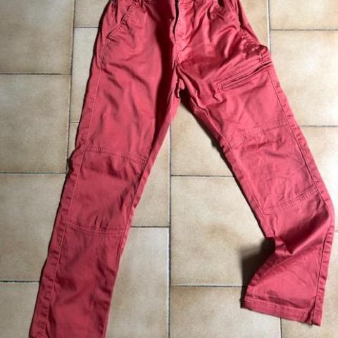 troc de  Pantalon corail orange slim fit 8 ans, sur mytroc
