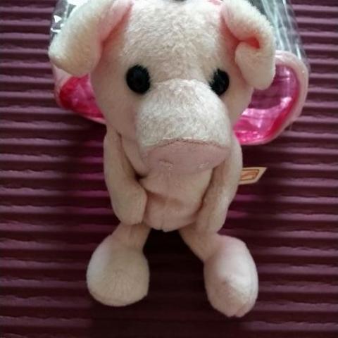 troc de  Petit cochon à adopter (peut être suspendu, utilisé comme house de portable ou en petit compagnon), sur mytroc