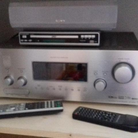troc de  Amplificateur Sony + 3 enceintes + lecteur multimédia, sur mytroc