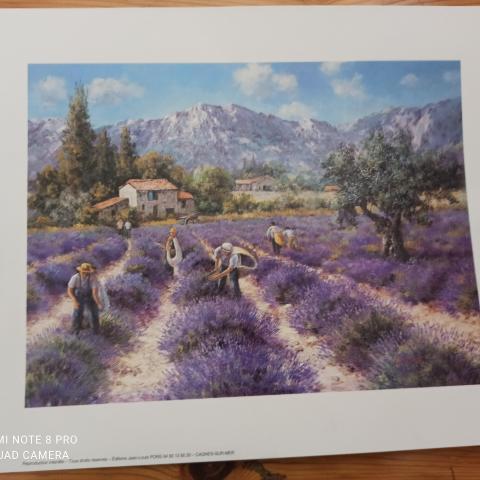 troc de  Gravure sur la Provence format A4, sur mytroc