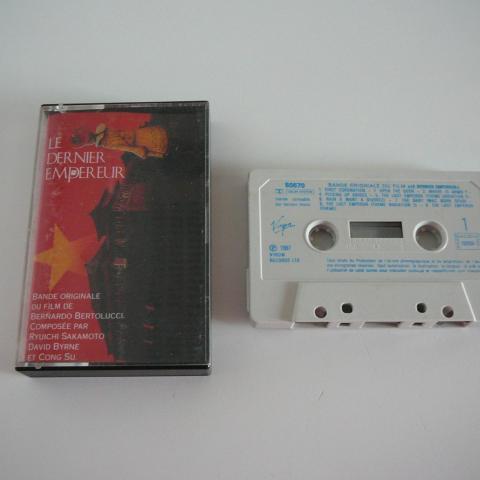 troc de  Cassette audi Le Dernier Empereur, sur mytroc