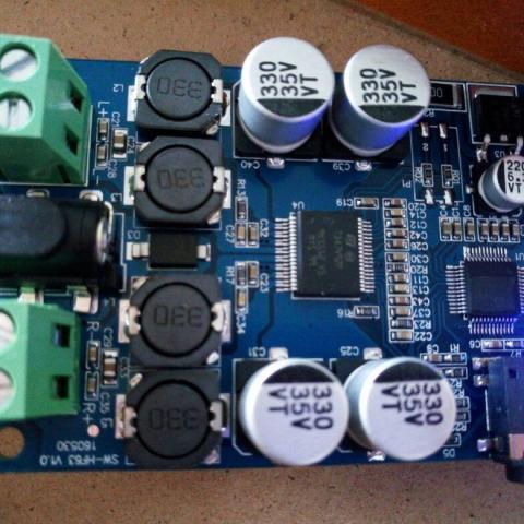 troc de  Amplificateur numérique bluetooth, sur mytroc