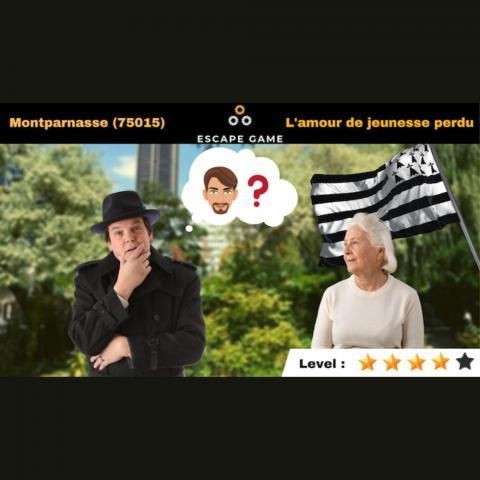 (épuisé) ESCAPE GAME MONTPARNASSE (L'AMOUR DE JEUNESSE PERDU)
