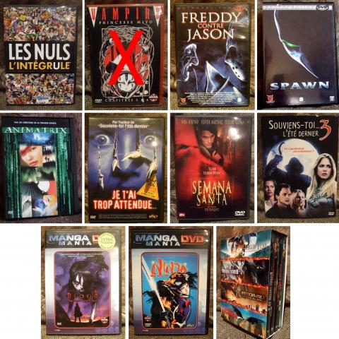 troc de  Lot 12 DVDs, sur mytroc