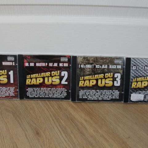 troc de  CD de RAP US, sur mytroc
