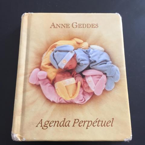 troc de  * Petit agenda perpétuel Anne Geddes, sur mytroc