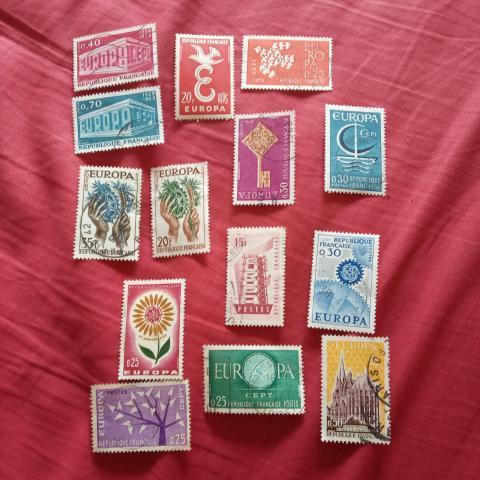 troc de  Lot timbre Europa 2, sur mytroc