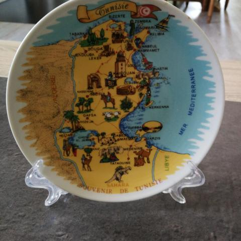 troc de  Assiette déco Tunisie, sur mytroc