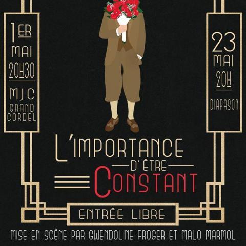 """troc de  Théâtre - Oscar Wilde """"L'importance d'être Constant"""", sur mytroc"""