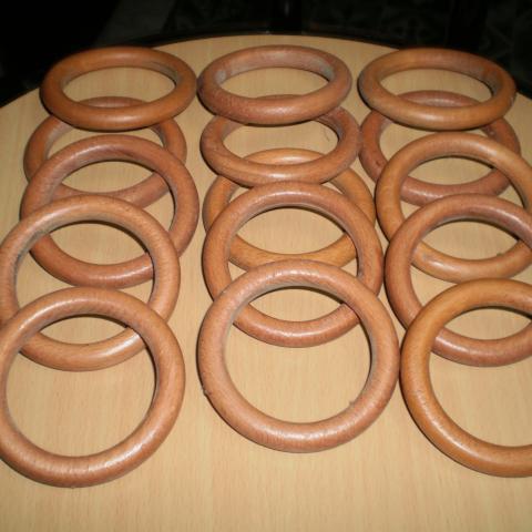 troc de  réservés,15 grands anneaux en bois, sur mytroc