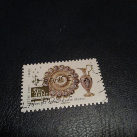 troc de  timbre art de la table aiguière Sèvres, sur mytroc