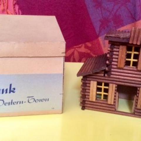 troc de  Vintage: jouet bois village Farwest, sur mytroc