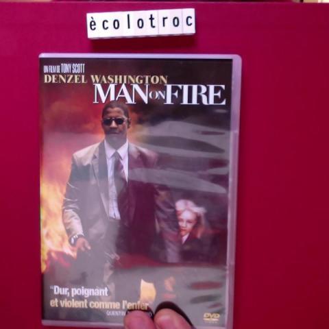 troc de  Port compris - DVD Man on Fire - Comme Neuf - Sans boitier, sur mytroc