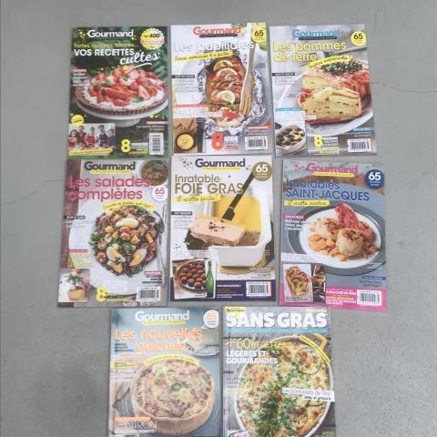Lot de 24 magazines Gourmand réservé