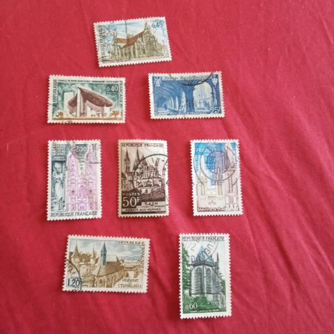troc de  Lot timbre lieux religieux 3, sur mytroc