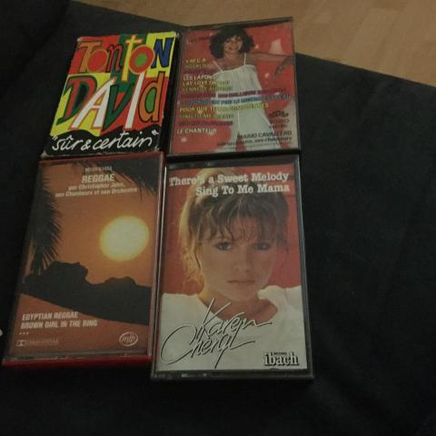 troc de  troc suspendu cassettes audio, sur mytroc
