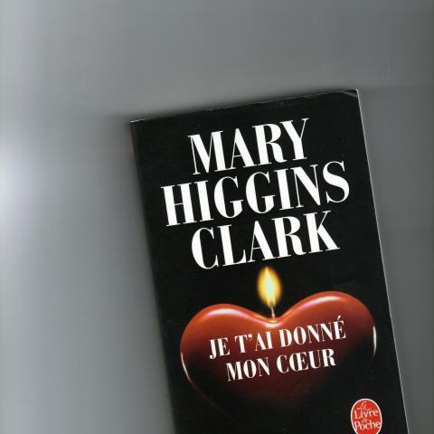 troc de  JE T AI DONNE MON COEUR  MARY HIGGINS CLARK, sur mytroc