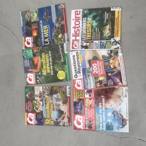 Lot de 6 magazines ça m'intéresse