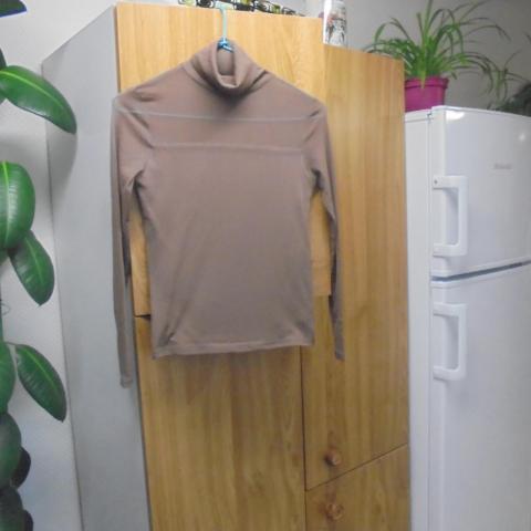 troc de  sous pull marron empiecement trasparent  t  12 ans  5  noise, sur mytroc