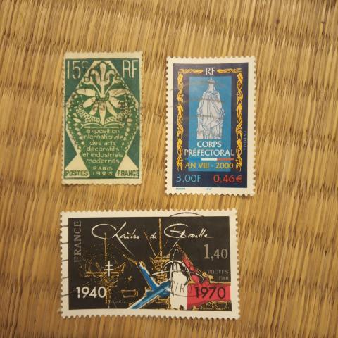 troc de  Réservé Lot timbres divers, sur mytroc