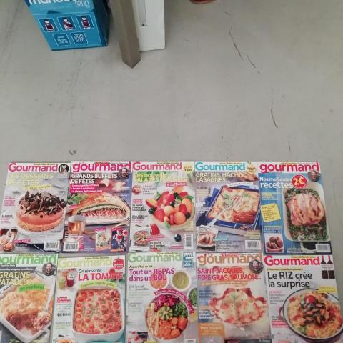 10 Magazines Gourmand