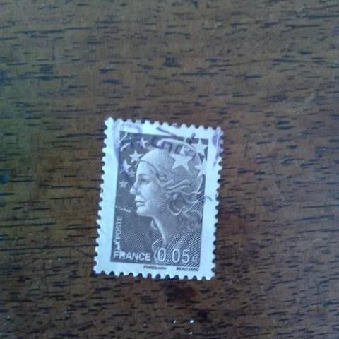 troc de  timbre obliteré(1), sur mytroc