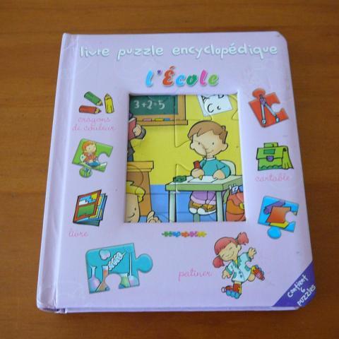 troc de  Livre imagier et puzzles, sur mytroc