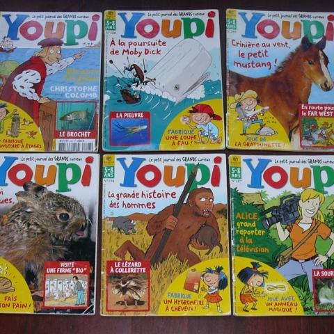 troc de  Lot magazines enfant Youpi, sur mytroc