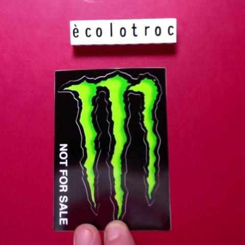 troc de  Port compris - Autocollant boisson énergisante Monster - Neuf, sur mytroc