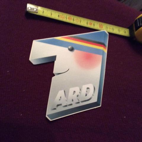 troc de  Autocollant radio allemande ARD années 90 pour collectionneur, sur mytroc