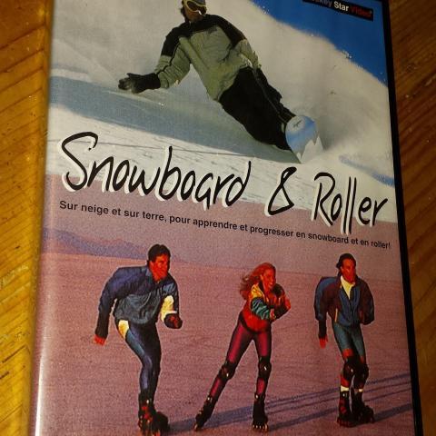 troc de  DVD Snowboard & Rollers, sur mytroc