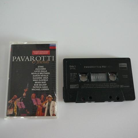 troc de  Cassette audio Pavarotti & Friends, sur mytroc