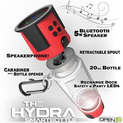 troc de  NEUF: Gourde connectée Hydra + recharge, sur mytroc