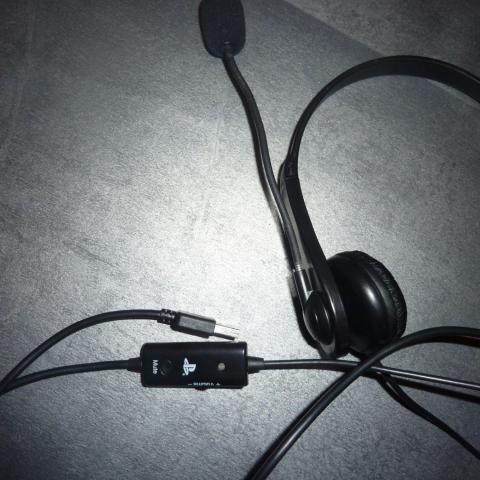 troc de  CASQUE PS3 CHAT HEADSET, sur mytroc