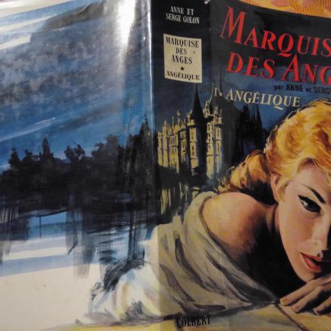 troc de  MARQUISE DES ANGES - ANGÉLIQUE par Anne et Serge Golon, sur mytroc