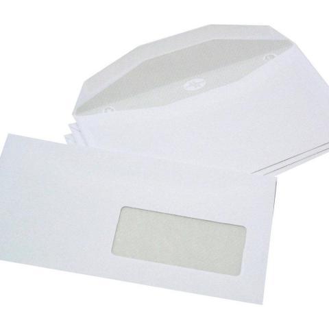 troc de  10 enveloppes à fenêtres, sur mytroc
