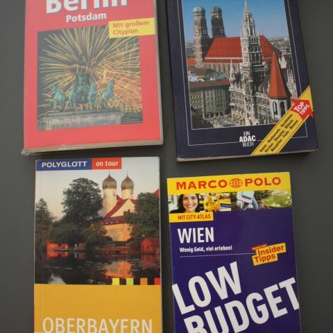 troc de  Guides voyages en allemand, sur mytroc