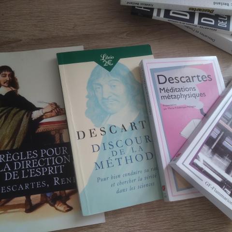 troc de  Lot livre de Descartes, sur mytroc