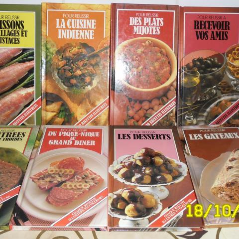 troc de  7 petits livres de cuisines spécialisées, sur mytroc