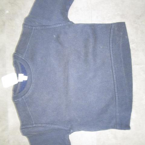 troc de  sweat bleu marine 4 ans 3 noisettes, sur mytroc