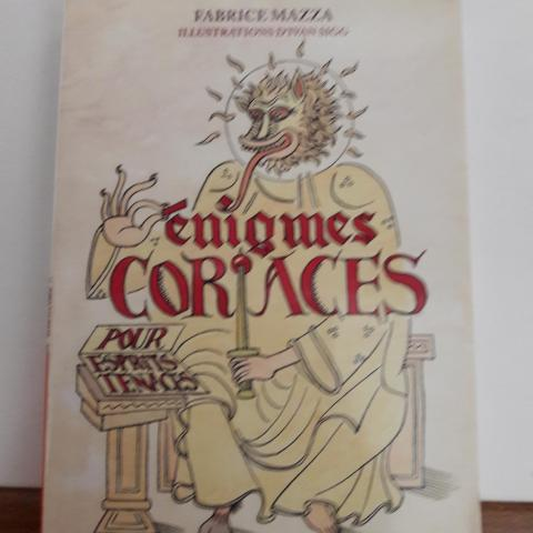 """troc de  Livre """"Enigmes Coriaces"""", sur mytroc"""