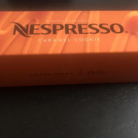 troc de  Barrette nespresso VERTUO caramel cookie 230ml, sur mytroc