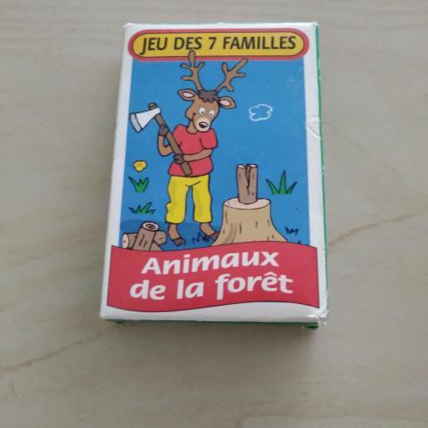 troc de  Jeu 7 familles animaux de la forêt, sur mytroc