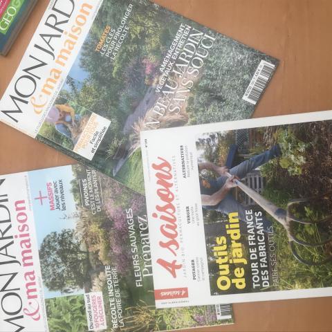 Lot de 3 magazines Mon jardin et 4 saisons
