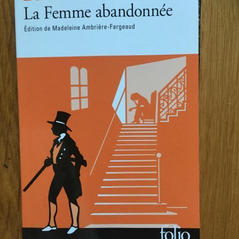 troc de  Donne livre Balzac la femme abandonnée, sur mytroc