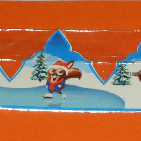 troc de  Couronne THIRIET SCRIPPY écureuil à la neige, sur mytroc