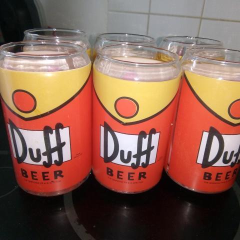 troc de  6 verres Simpsons, sur mytroc